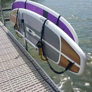 paddleboard rack dock accessory