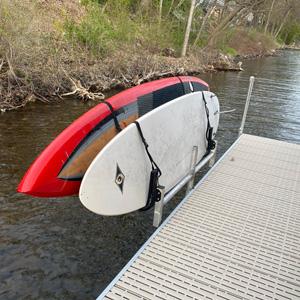 kayak rack on titan dock