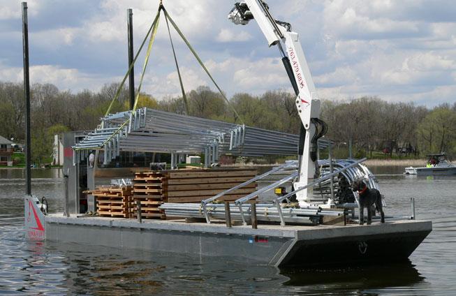 2008 barge in transit