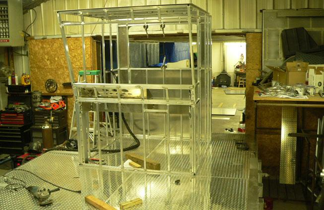 assembling 2008 barge