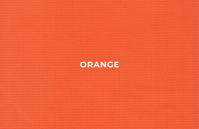 orange standard vinyl