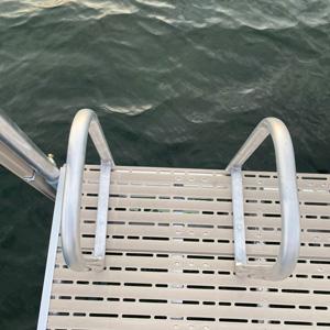 metal ladder dock accessory