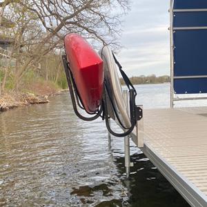 kayak rack alternative view