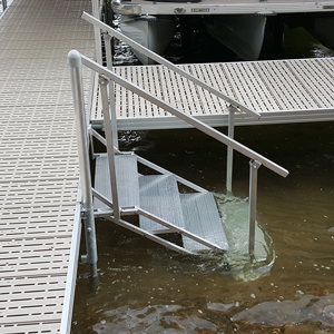 metal stairs dock accessory