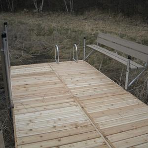 swim platform dock accessory