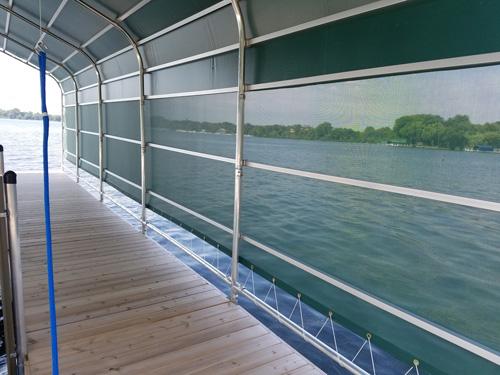 alternative inside view of inside of boathouse